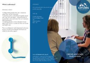 Advocacy South Ayrshire leaflet