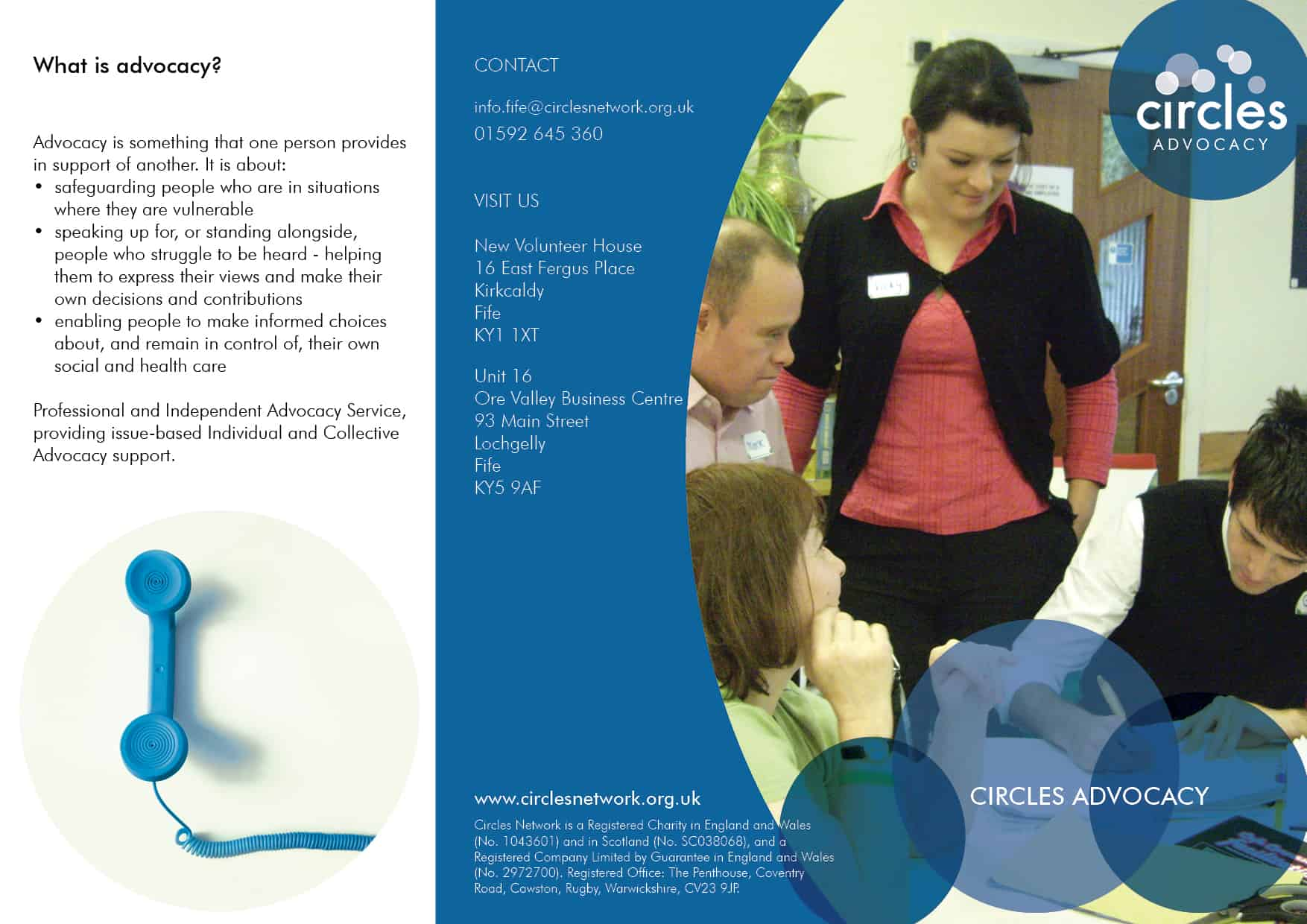 Advocacy Fife poster