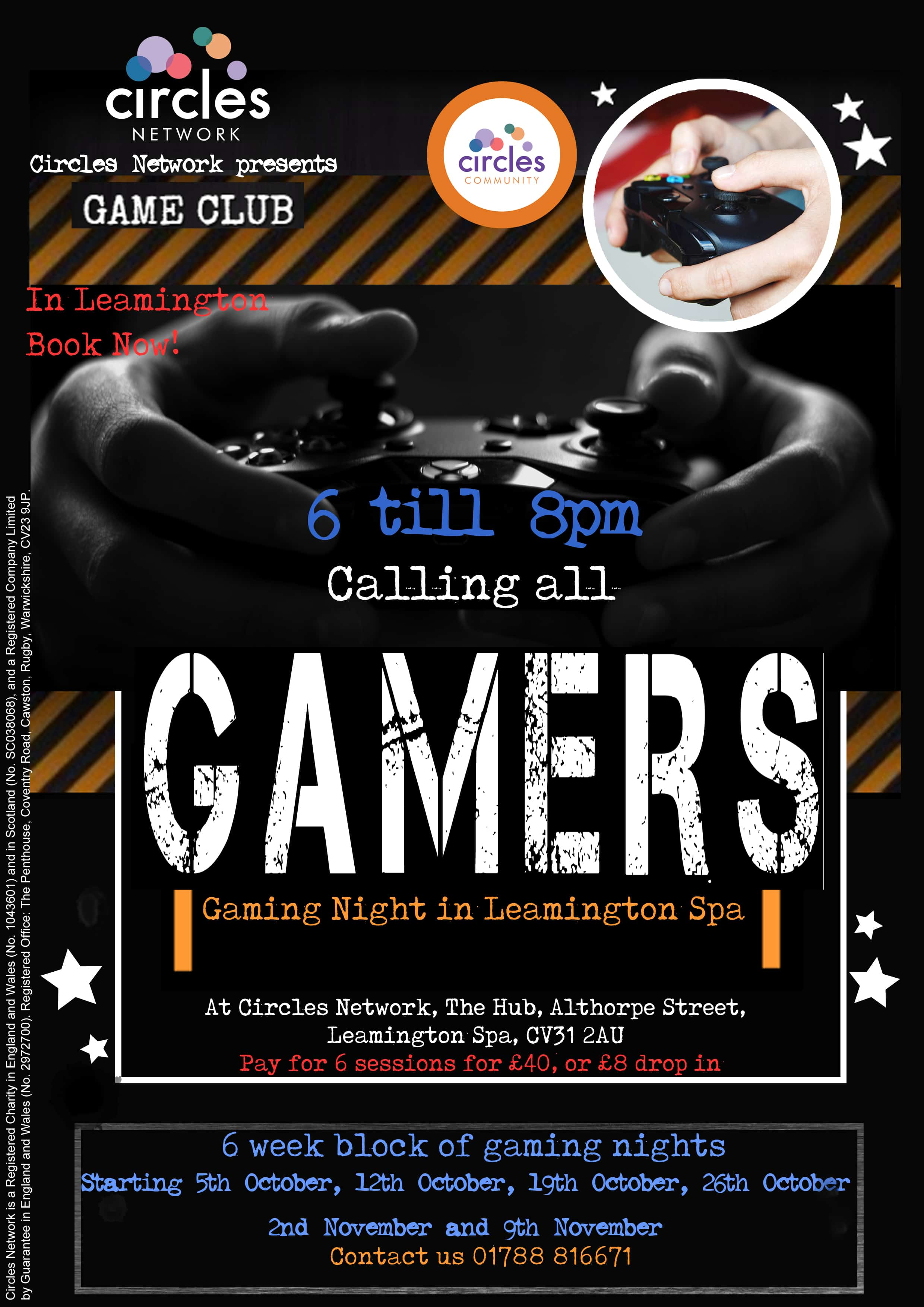 Image - Gaming club poster
