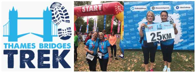 Walking-for-charity-finish line